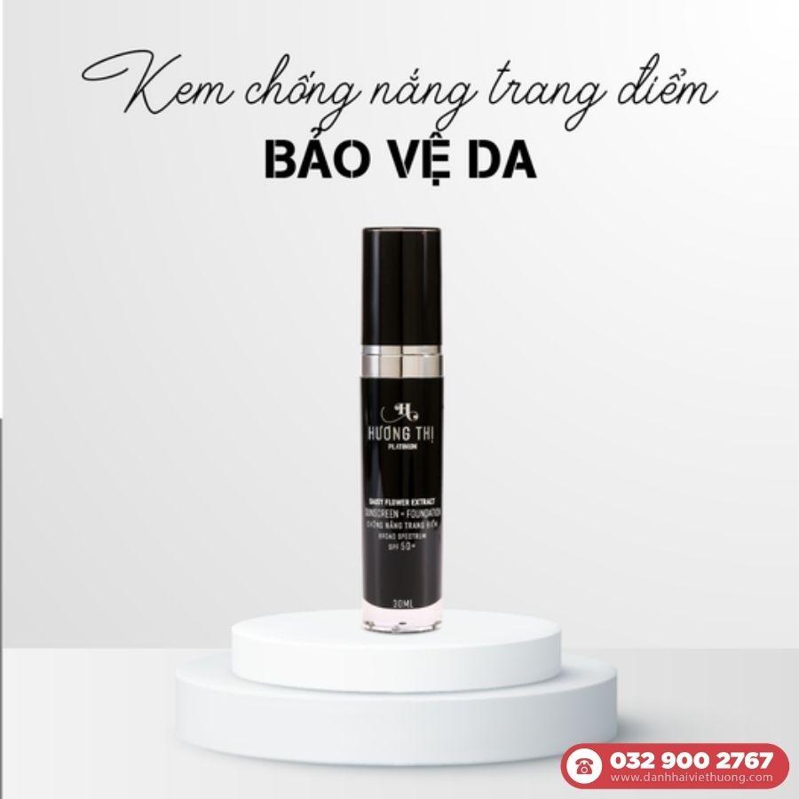 Kem chống nắng trang điểm Hương Thị Platinum