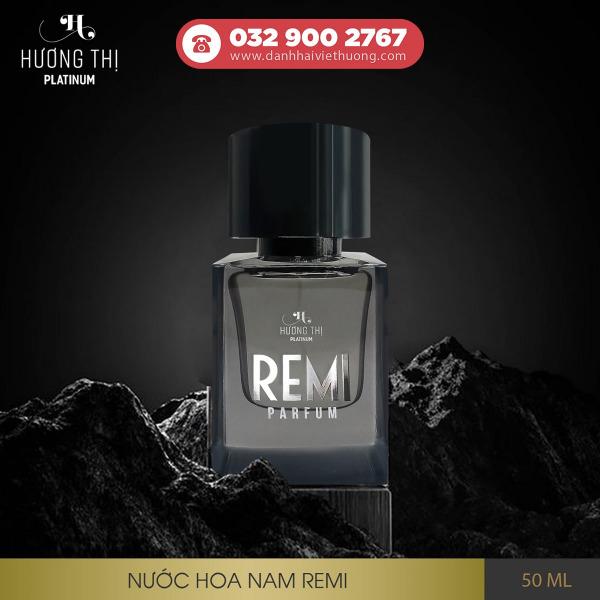 Nước hoa nam Remi cao cấp 50ml lưu hương 8-12h - Hương Thị Platinum 2