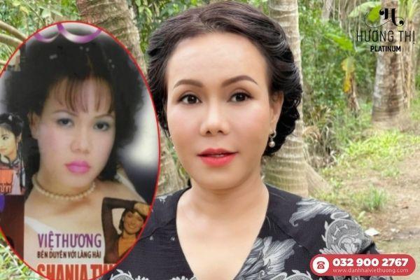Nghệ sĩ Việt Hương chia sẻ về nhan sắc cách đây 21 năm
