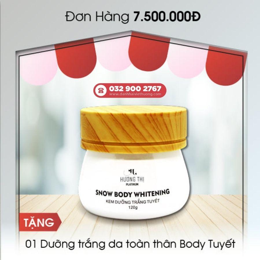 khuyến mãi tháng 8 mỹ phẩm hương thị việt hương cho đơn hàng trên 7.500.000đ