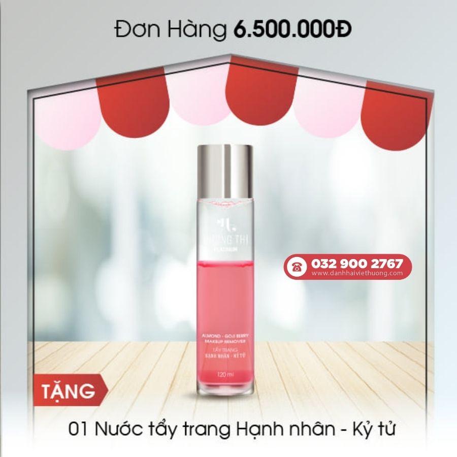 khuyến mãi tháng 8 mỹ phẩm hương thị việt hương cho đơn hàng trên 6.500.000đ