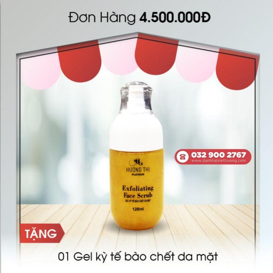 khuyến mãi tháng 8 mỹ phẩm hương thị việt hương cho đơn hàng trên 4.500.000đ