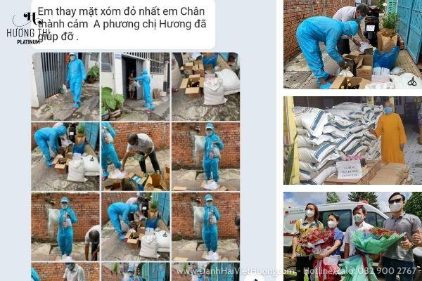 Vợ chồng nghệ sĩ Việt Hương trao tặng xe cứu thương trị giá 3 tỷ cho ông Đoàn Ngọc Hải và trợ giúp nhiều người khác.